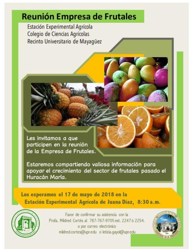 Empresa Frutales 17 mayo 18